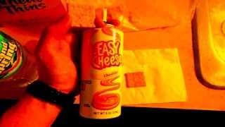 Mmmm Easy Cheese ~ Yummy ! ROFLcopter