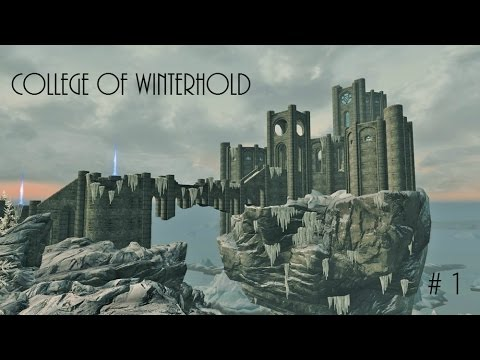 1 First Lessons- College of Winterhold Questline