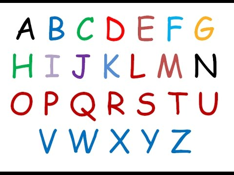 Writing the English Alphabet | Tracing ABC for kids | Letters of the English Alphabet