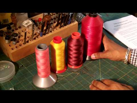How To Select Thread for Leather Projects