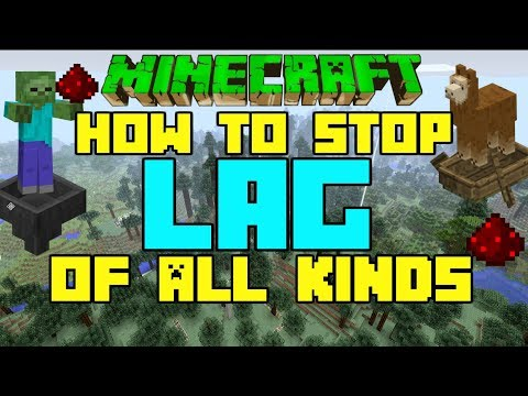 Minecraft How To GET RID OF LAG! In Depth Tutorial Xbox One PS4 PS3 PE PC Switch MCPE