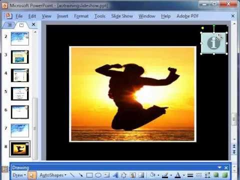Using macros in PowerPoint