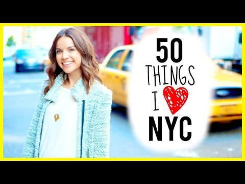 50 Things I Love About NYC