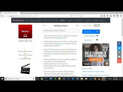 Explain HDFS Read a file workflow. | javapedia.net
