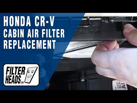 How to Replace Cabin Air Filter Honda CR-V 2002-2006