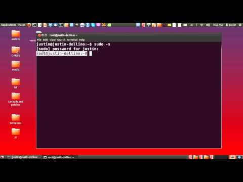 change a users password in linux
