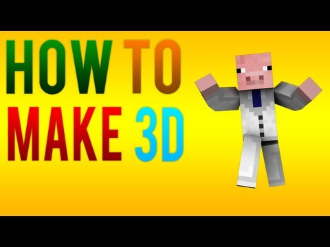 How to make your Minecraft Character 3D! (In Cinema 4D)