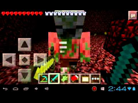 Minecraft PE Correct pattern of nether reactor