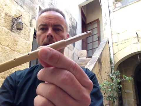How to make the traditional maltese reed pipe