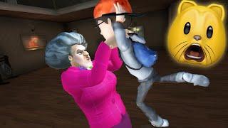HELLO NEIGHBOR'S SISTER?!   Scary Teacher 3D (Fan Choice FRIGHTday)