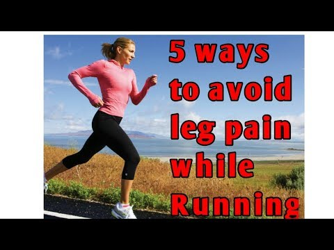 5 Tips to avoid leg pain while running