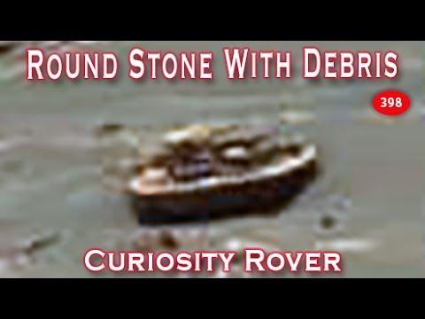New Curiosity Rover Image Shows Circle & Debris