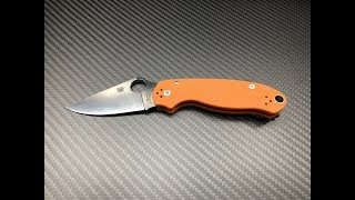 Spyderco Para 3 in M390 presented by Shortcut Reviews
