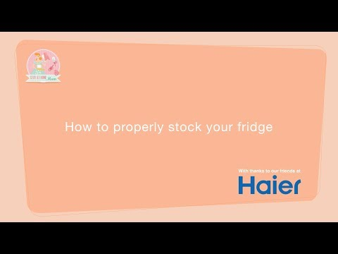How to properly stock your fridge: Stay at Home Mum
