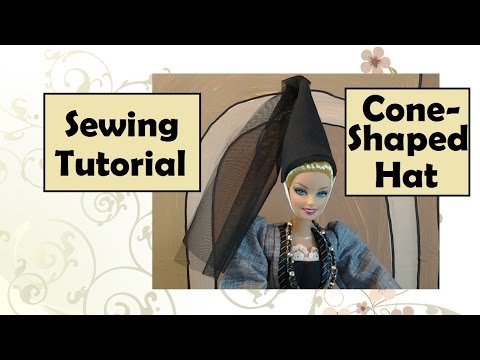 Cone Shaped Princess Hat DIY Tutorial