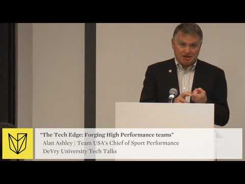 DeVry University Tech Talk: USOC Team USA - Forging High Performance Teams - Blending Tech World