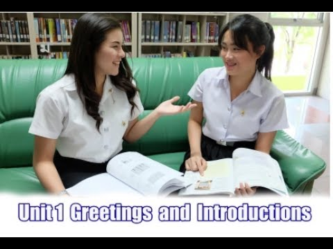 Greeting and Introducing การทักทายและการแนะนำ 1