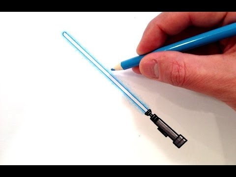 How to Draw a Lightsaber
