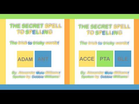 How To Spell Adamant & Acceptable - The Secret Spell To Spelling
