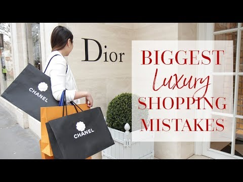10 BIGGEST LUXURY SHOPPING MISTAKES