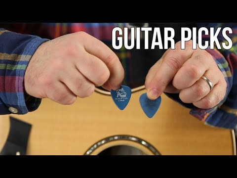 Guitar Picks - What Kind Should You Use?