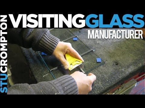 Visiting the glass manufacturer