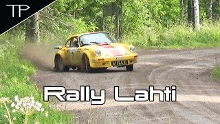 Old school action is back - Lahti Historic Rally 2017