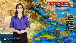 6 जुलाई का मौसम पूर्वानुमान: राजस्थान, गुजरात, मध्य प्रदेश और छत्तीसगढ़ में मध्यम बारिश
