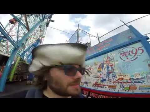 64- Coney Island e la sua ruota panoramica