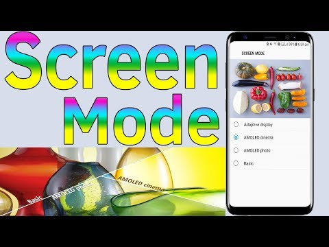 Screen Mode : How To Choose Screen Mode On The Samsung Galaxy J5/J7/S7/S8/S9 - Helping Mind