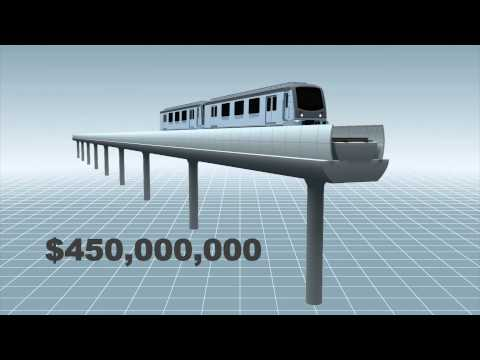 New York to build elevated AirTrain to La Guardia Airport