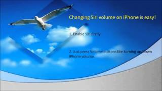 Tips To Change Siri S Volume On Iphone 4s Or Iphone 5