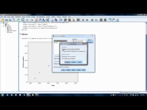 How to Use SPSS: Pearson Correlation Coefficient