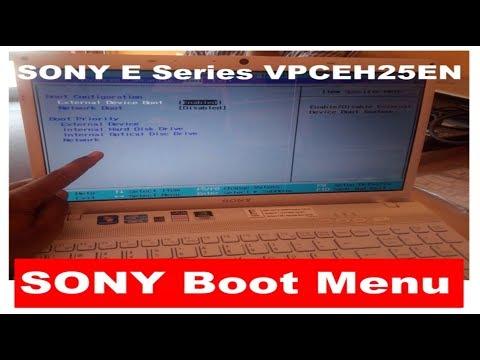 Sony Boot Menu