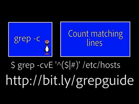Learning grep for Linux, OS X and Unix