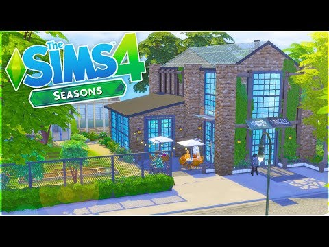 The Sims 4 Speed Build | Community Garden/Cafe