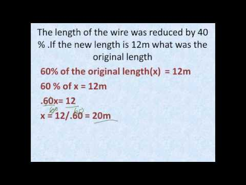 Percentage - Finding Original amount.mp4