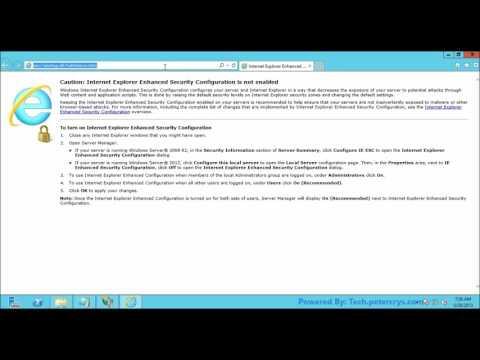 Add applications in IIS 8 on Windows server 2012