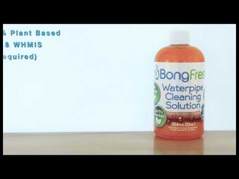 BongFresh Waterpipe Cleaning Solution™ Bong Fresh Cleaning