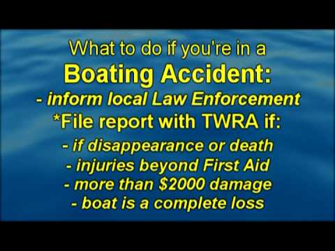 Boat Accidents in Tennessee