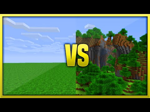 Minecraft Flat Land Vs Seed For City Building (Xbox360/PS3/XboxOne/PS4)