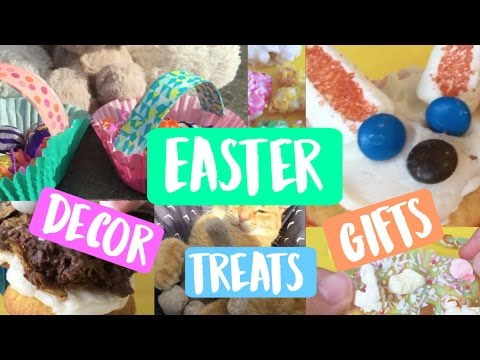DIY Easter/Spring treats, gifts and decor!