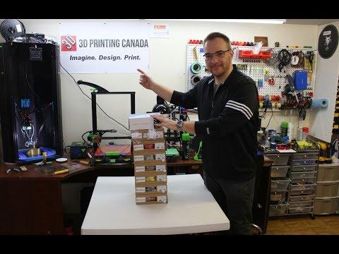 Unboxing 2 - Cadeaux de 3D Printing Canada !