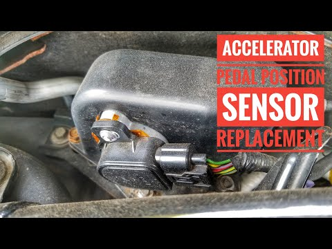 HOW TO REPLACE APPS PEDAL POSITIONING  SENSOR HONDA ACURA LIMP MODE FIX TUTORIAL P2128 P2138 TL TSX