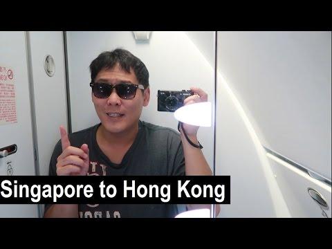 Subscribers made me - Singapore to Hong Kong