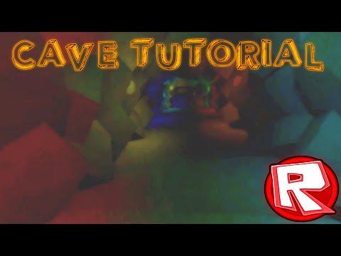 ROBLOX Building Tutorial: Amazing Caves (Best 2015 Voice)