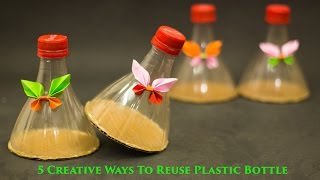5 Creative Ways to Reuse and Recycle Plastic Bottles