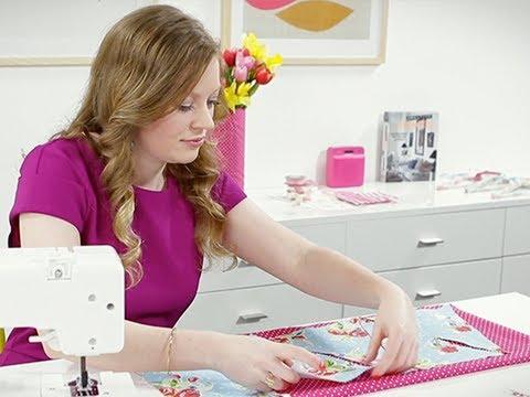 Craft Corner: How to make quick sew bunting