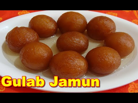 Soft & Spongy Gulab Jamun Recipe in Tamil   குலாப் ஜாமுன்