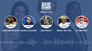 UNDISPUTED Audio Podcast (2.08.18) with Skip Bayless, Shannon Sharpe, Joy Taylor   UNDISPUTED